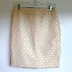 Ivory Ann Taylor Petite Pencil Skirt